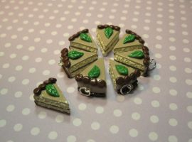 Charms: Mint Cocoa Cake Slices by okapirose