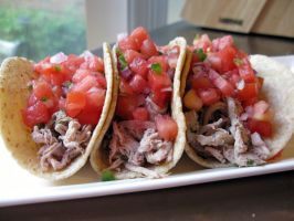 Pork And Watermelon Tacos by brettddes