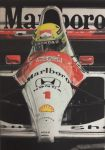 Ayrton Senna - '91 McLaren MP4/6 by Samipie