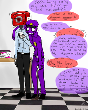 Phone guy x purple guy charathecat 4 3 vincent x