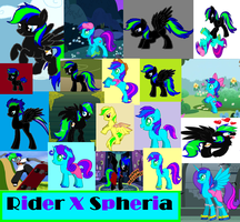 Rider X Spheria by PrincessEmerald7