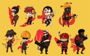 TEAM FORTRESS GAHHH by Nixete
