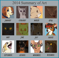 2014 Summary of Art by Miiroku