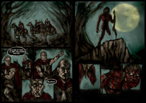 LEGION - Sample 2 Page Spread by narcoloth
