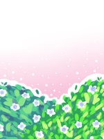 Flower Bush .Free Background. by scribblin