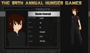 59th Hunger Games OCT- Devin by nk-chan