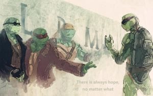 TMNT-Wall by flyYZ