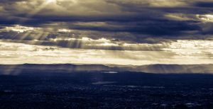 Sky over Melbourne by CrizzCrozz