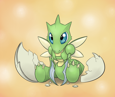 Day 3- Scyther by Hewryu