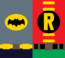 1966 Batman and Robin Phone Background by UrLogicFails