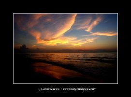 .013 - painted skies by C-Denton-Photography