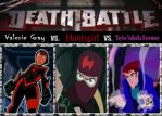 Death Match; The Ghost Huntress vs. The Dragon Sla by srebak