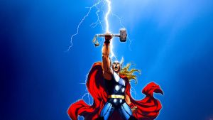 Thor (Civil War) by Xionice