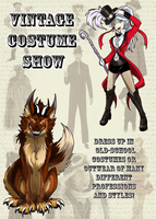 Mugen High-Event: Vintage Costume Show by Fly-Sky-High