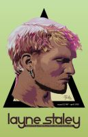Layne Staley by theprietokolor