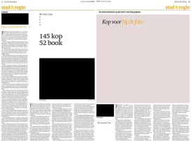 Trouw Newspaper New Themepage design Spread 4 by AngelsWillFallFirst