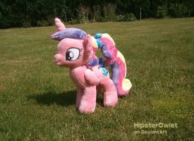 Handmade Foalsitter Cadence Plushie by HipsterOwlet