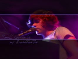 Andrew in Concert - wallpaper by houseofleaves