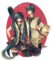 vocaloid_duo by reedot