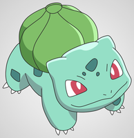 001 Bulbasaur v2.0 by scope66