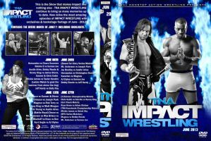 TNA Impact Wrestling June 2013 DVD Cover by Chirantha