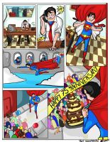 Super Man 75th Anniversary by ruzovymonster