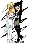Commish :: Emma and Zatanna by Lets-Get-Saiko