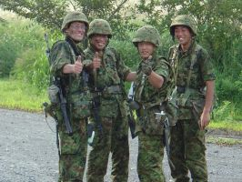 JGSDF by SoulCapacitor