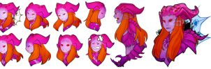Commission: Arachne icon set by Zennore