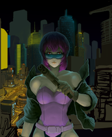 Ghost in the Shell - WIP by mqken