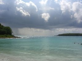Vieques beach by PsifiGirl
