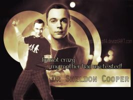 Dr Sheldon Cooper by LeavesFallingUp14