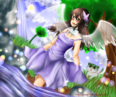Art Contest ::UnlimitedVoice::Ami by Prissy99