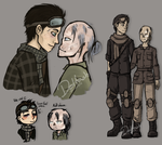 Sloppy Fallout4 scetches by Ricarderp