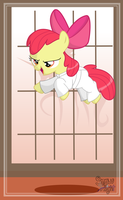 Apple Bloom Martial Arts by SnowFlight96