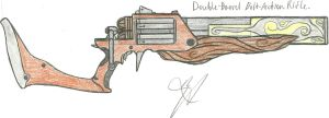 Double Barrel Bolt Action Rifle IDEA Trade by Chigiri16