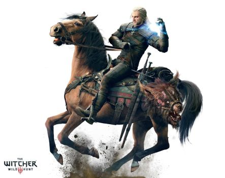 The Witcher 3 Wild Hunt Geralt by Alucard-748