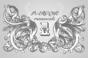 Baroque Ornament Vectors Vol1 by wegraphics