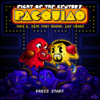PARODY: Pacman v.s. Mayweather by lei-melendres