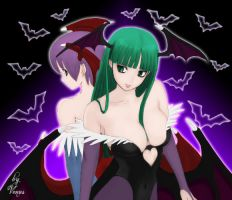 Morrigan e Lilith by venussama02