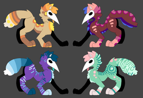 Creature adopts by ArmedLoner