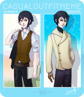 MM - Luca Casual Outfit Meme by SaraCuervo
