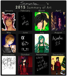 2015 art summery by Samonsea