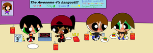 The Awesome 4-Hanging Out by GangnamStyleChick