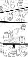 Sonic Unleashed Comic 1 by NettikGirl