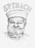Spinach by monorok