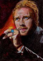 Chris Martin by orangeisblue