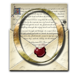 Steampunk O Open Envelope Icon by yereverluvinuncleber