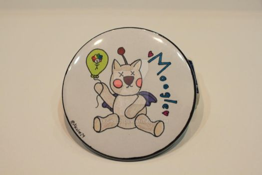 moogle Button by Akcire29