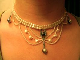 Victorian style necklace by SBeadHeaven
